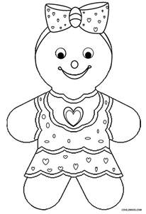gingerbread coloring pages printable gingerbread house coloring pages for