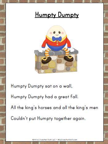 full humpty dumpty nursery rhyme nursery rhymes and their negativity being mumma