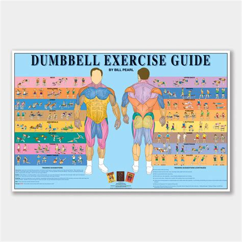 dumbbell exercise guide bill pearl