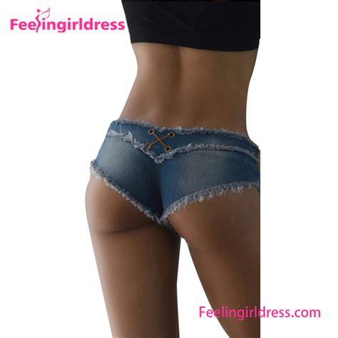 Celana Pendek Hotpants Blue denim mini shorts vrouwen strakke korte huid