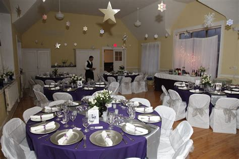 purple silver and white wedding table decorations for sale the books are taking