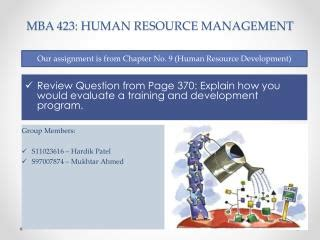 Human Resource Development Notes For Mba Ppt by Ppt Human Resource Management 10th Edition Chapter 7