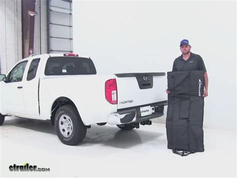 nissan frontier bed rack compare yakima crashpad vs softride tailgate etrailer com