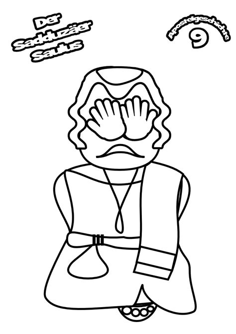 free the road to damascus coloring pages