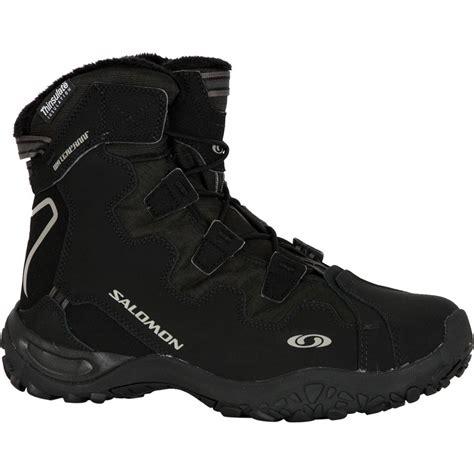 salomon boots mens salomon snowtrip ts wp boot s glenn