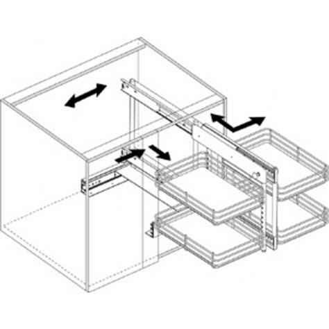 blind corner cabinet pull out unit blind corner cabinet pull out fanti blog