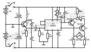 metal detector schematic metal detector display elsavadorla