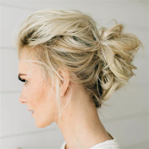 blonde hairstyles updo 20 perfect medium lenght hairstyles for thin hair ideas