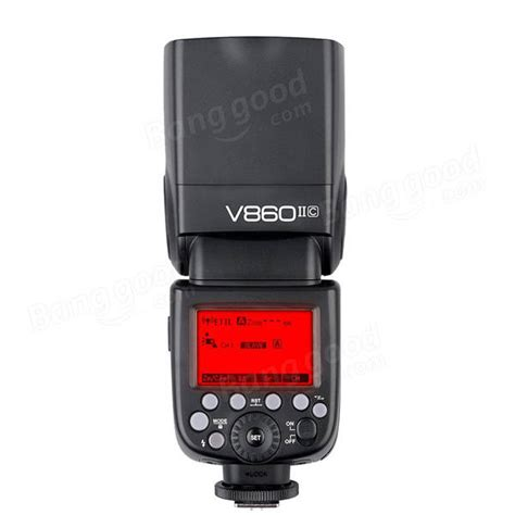 Flash Godox Tt520 Ii godox v860 ii flash for canon