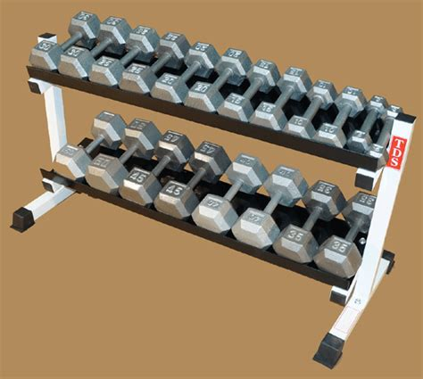 48 quot rack with 550 lb hex dumbbells as a set new york