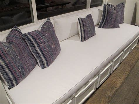 diy bench seat diy bench seat window seat cushions pinterest