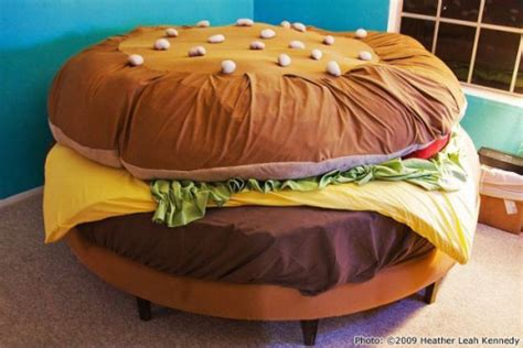 cheeseburger bed 10 ways to make your burger fantasies come true