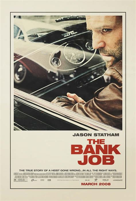 movie poster design jobs videopub s movie reviews the bank job