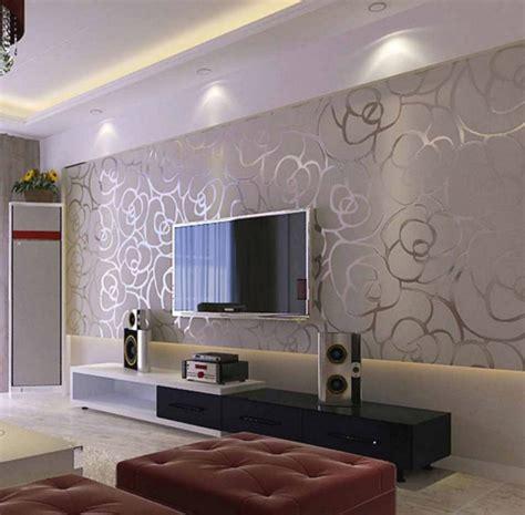 wallpaper dinding yang cantik percantik interior rumah dengan wallpaper dinding modern