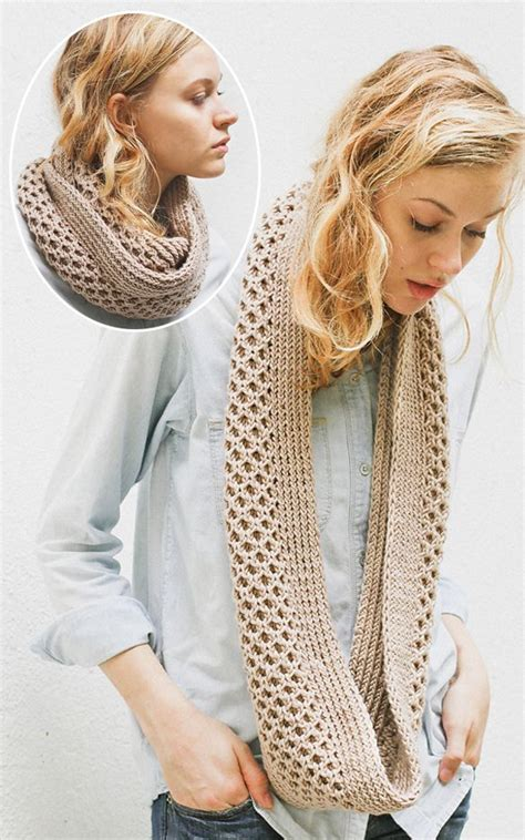 knitting central free knitting pattern for honey stitch cowl this