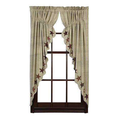 prairie style curtains abilene star prairie swag