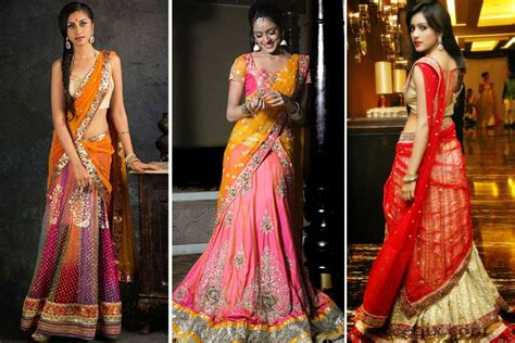 half saree style draping how to wear a saree in 20 different ways page 4 of 4