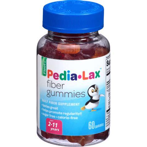 fleet pedia lax fiber gummies daily fiber supplement