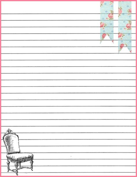 printable winter writing paper elementary lined paper with borders printable lined paper template