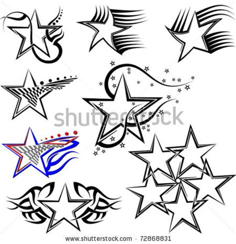 star trail tattoo designs images designs