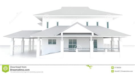 background design house 3d white house architecture exterior design in white