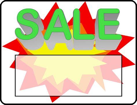art of sale clipart sale sign