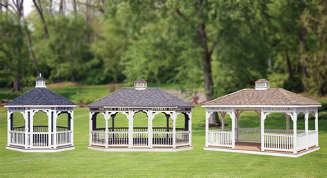 amish backyard structures amish gazebos in pennsylvania from amish backyard structures