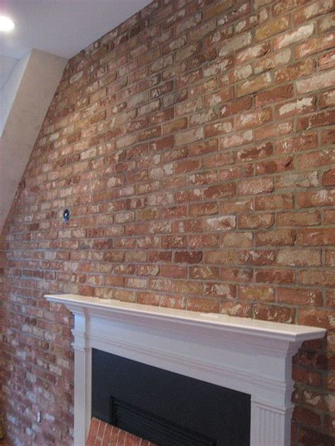 faux brick wall   Brick Wallpaper   Pinterest   Beautiful
