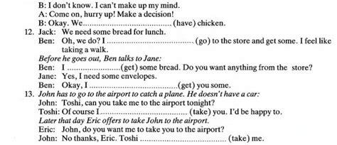 preguntas en negativo español ejercicios futuro will vs going to cursos de ingles