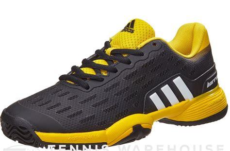 Sepatu Adidas Black Yellow adidas barricade xj black yellow sepatu tenis adidas