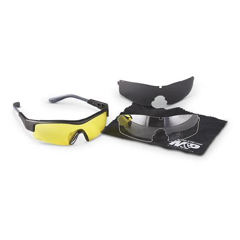 smith wesson 174 m p 174 safety eyewear 292756 gun safety