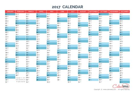 2017 yearly calendar template vertical 02 free printable templates