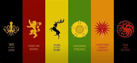 game of thrones houses mbti game of thrones houses zombies ruin everything