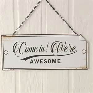 Open closed metal hanging sign 19 00 hanging metal sign this gorgeous