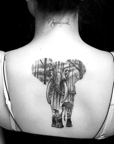amazing elephant tattoo