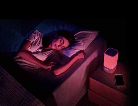 Sleeping With Lights On by Nox Smart Sleep Light From Sleepace Review 187 The Gadget Flow