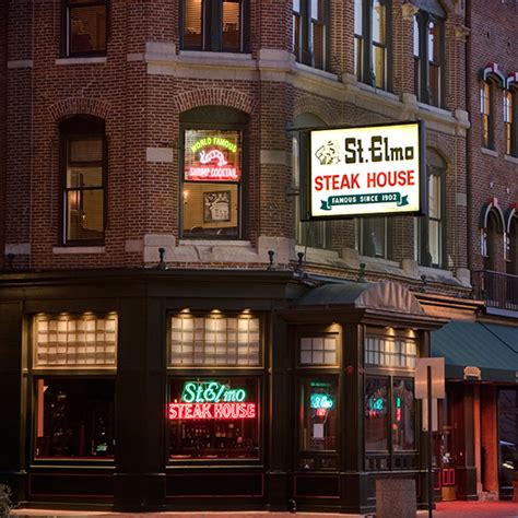st elmo steak house iconic steak houses food wine