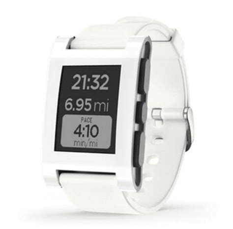 Pebble Time Steel Smartwatch White mejores smartwatch chinos y baratos de aliexpress mayo 2018