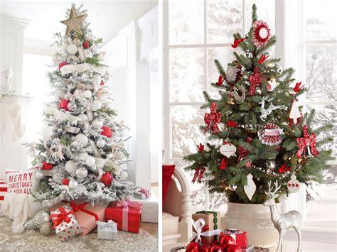 decorare alberi di natale albero di natale 2016 come addobbarlo e le decorazioni