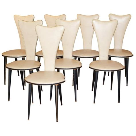 1950s dining room furniture umberto mascagni 1950 s dining chairs at 1stdibs