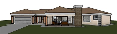 Floor Plans For 4 Bedroom Houses by T363 Nethouseplans