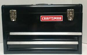 craftsman  drawer chest  large top compartment tool box