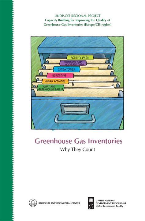 rec publication greenhouse gas inventories