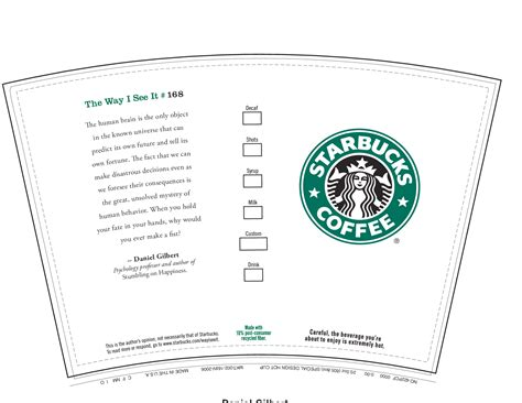 coffee cup card template starbucks cup template 2017