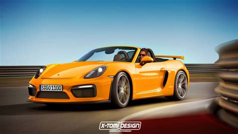 Porsche Boxster Rs by Porsche Mulling More Cowbell Boxster Gt4 And Gt4 Rs