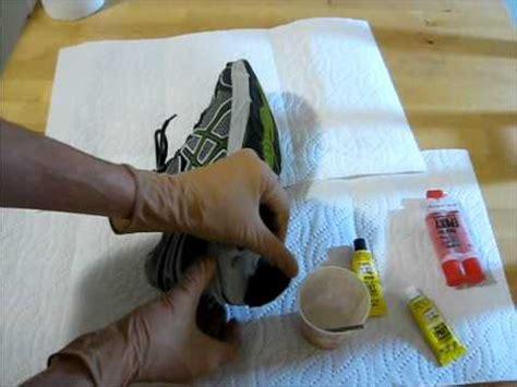 how to repair running shoes repair sole of shoe