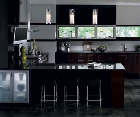 Modern Espresso Kitchen Cabinets Contemporary Kitchen Cabinets In Espresso Finish Kitchen Craft