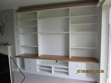 Built In Shelves In Living Room by Gary West Bespoke Furniture