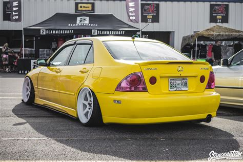 stanced lexus is300 100 stanced lexus is300 white low n lexus