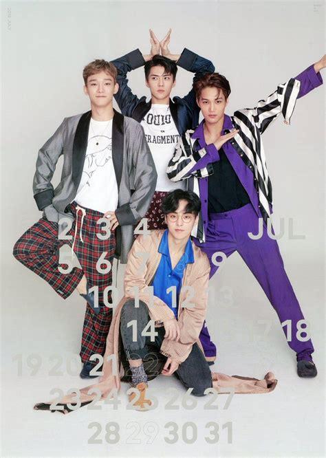 exo season greeting 2018 scan 171223 2018 exo weareoneexo season s greetings